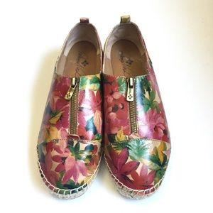 Patricia Nash Floral Shoes/Espadrilles Size 10